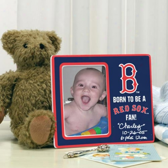 Boston Red Sox Born To Be Pictre Frame