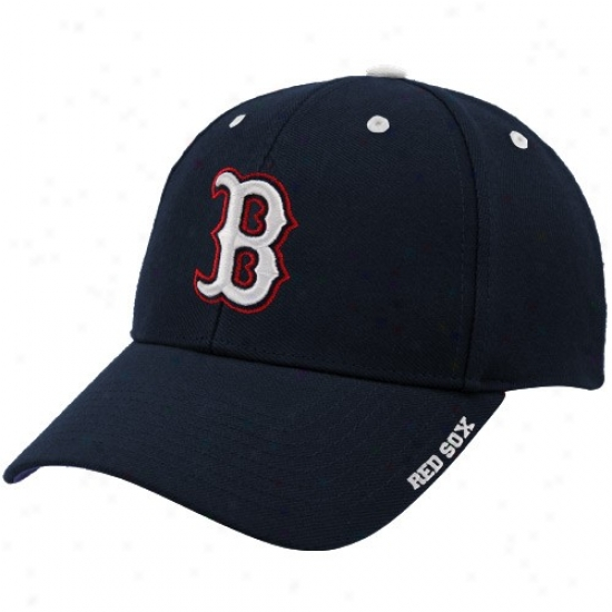 Bowton Red Sox Cap : Twins '47 Boston Red Sox Navy Blue Frost Adjustable Cap