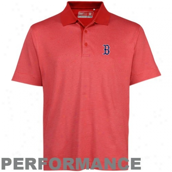 Boston Red Sox Clothhes: Cutter & Buck Boston Red Sox Red Res0lute Performance Polo