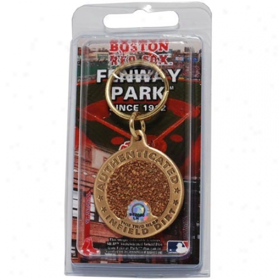 Boston Red Sox Fenway Park Bronze Infield Dirt Keychain