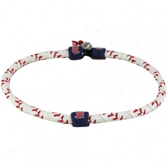 Boston Red Sox Frozen Rope Basball Necklace