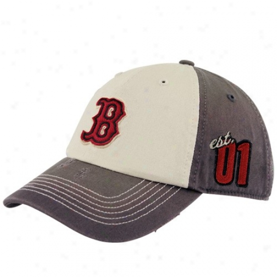 Boston Red Sox Hat : Twins Enterprise Boston Red Sox Natural Franchise Tart Seam Fitted Hat