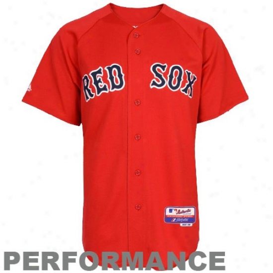 Boston Red Sox Jerseys : Majestic Boston Red Sox Red Authentic Cool Base Baseball Jerseys