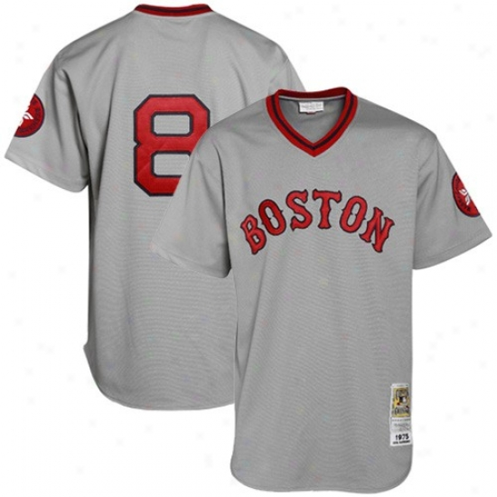 Boston Red Sox Jerseys   Mitchell   Ness Carl Yastrzemski Boston Red Sox  Cooperstown Authentic Throwback 0b8bbcc9da3
