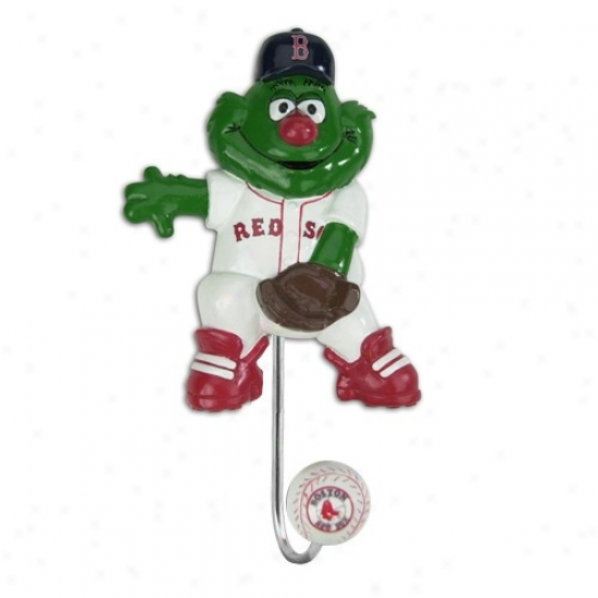 Boston Red Sox Mascot Wall Hook