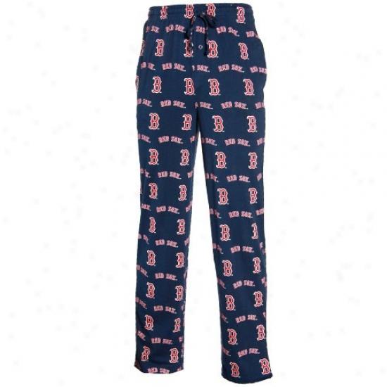 Boston Red Sox Navy Blue T2 Pajama Pants
