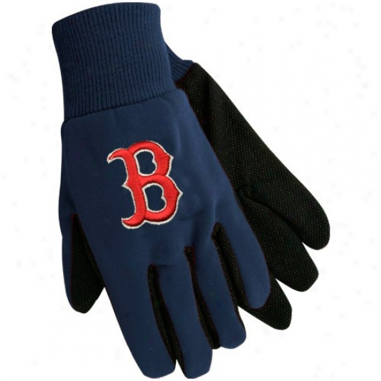 Boston Red Sox Navy Dismal Utility Gloves