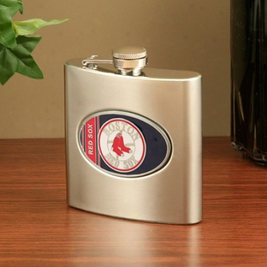 Boston Red Sox Stainless Steel Flask