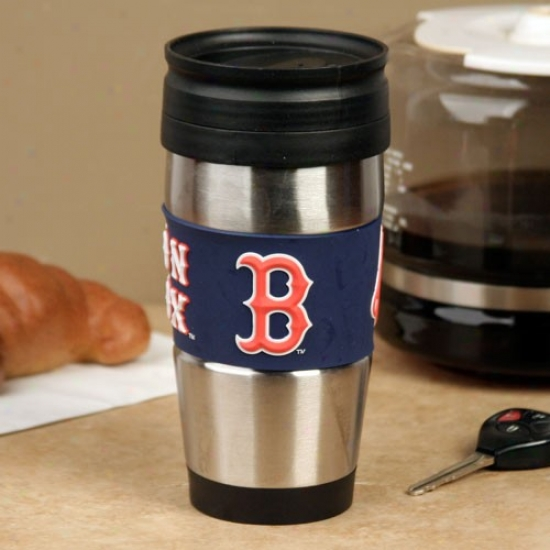 Boston Red Sox Stainless Steel & Pvc Travel Tumbler