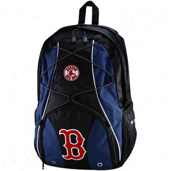 Boston Red Sox Young men Navy Blue-black Darth Backpack