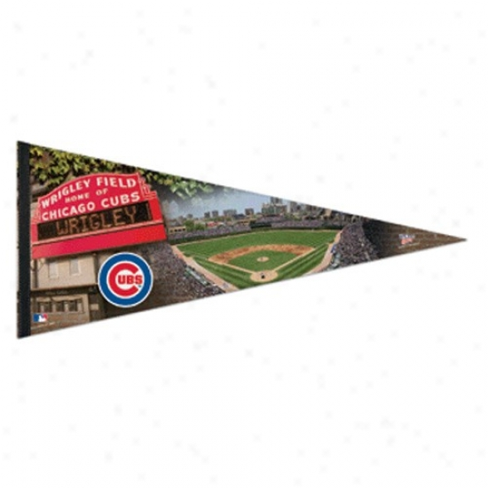 Chicago Cubs 17'' X 40'' Stadium Felt Pennant