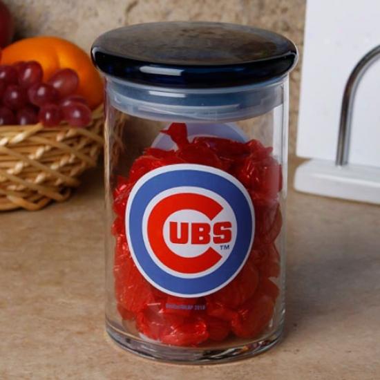 Chicago Cubs 31oz. Candy Jar