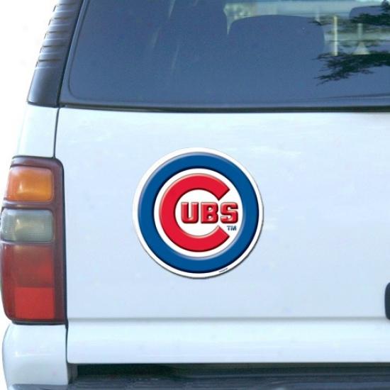Chicago Cubs Baseball Team Logo Car Magnet