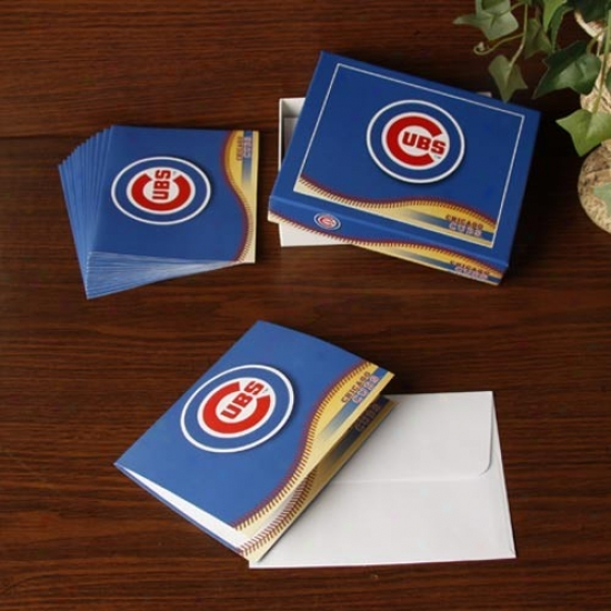 Chicago Cubs Boxed Note Cards