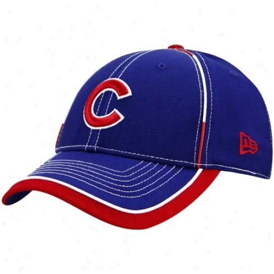 Chicago Cubs Caps : New Era Chicago Cubs Royal Blue 39thirty Stretch Fit Caps