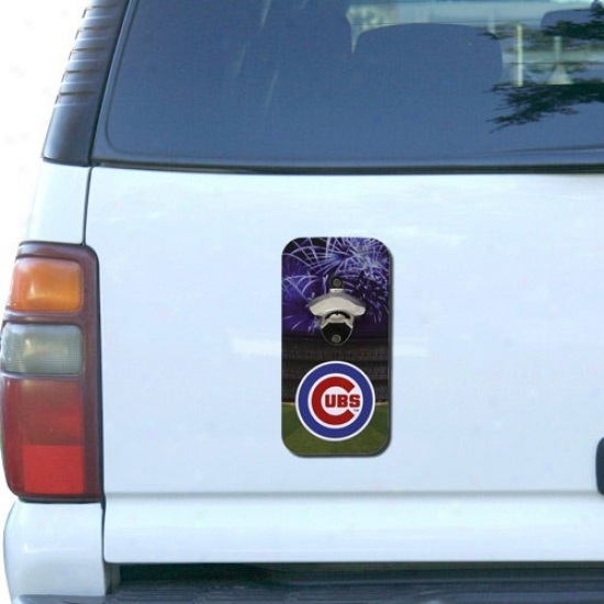 Chicago Cubs Clink-n-drink Magnetic Bottle Opener