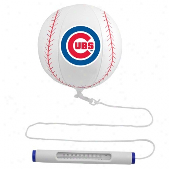 Chicago Cubs Floating Baseball Pool Thermometer