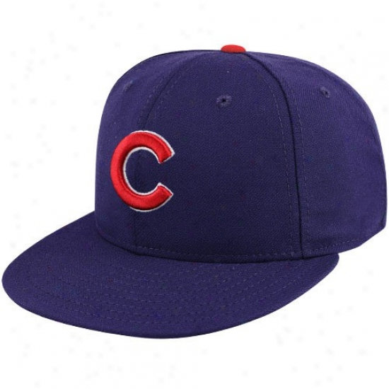 Chicago Cubs Gear: New Point of time Chicaago Cubs Youth Royal Blue On-field 59fifty Fitted Hat