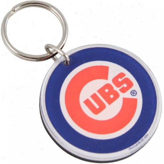 Chicago Cubs High Definition Team Logo Key Ring