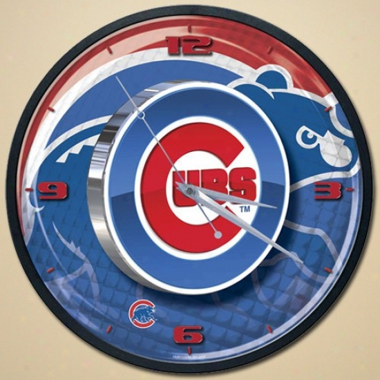 Chicago Cubs High Definition Wall Clock