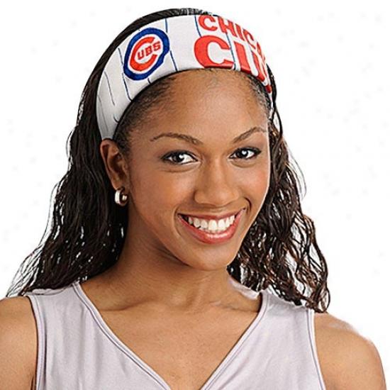 Chicago Cubs Mlb Fanband Jersey Headband