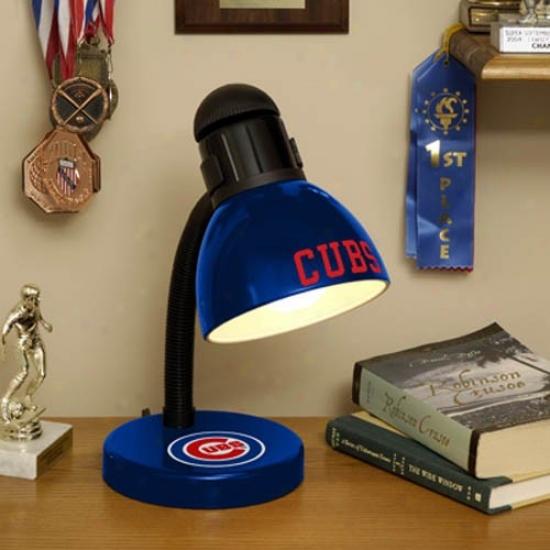 Chicago Cubs Navy Blue DeskL amp