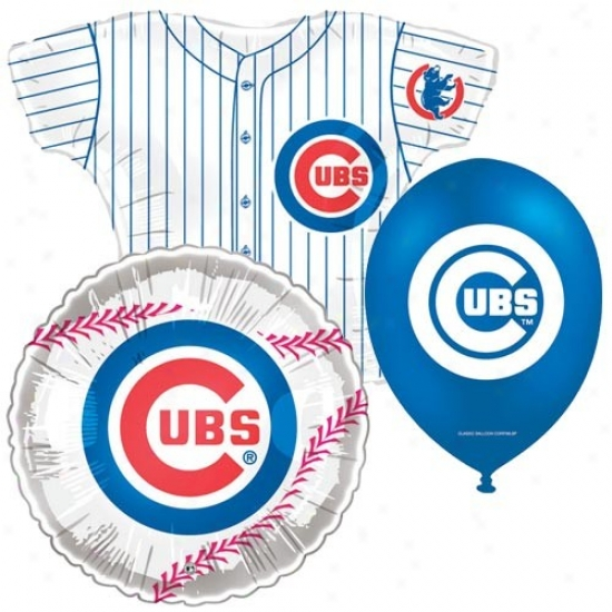 Chicago Cubs Party Balloon Set