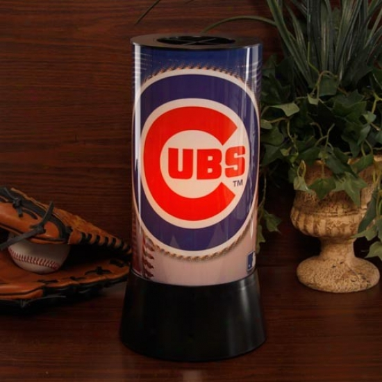 Chicago Cubx Rotating Lamp