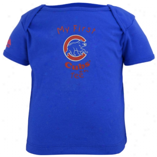 Chicago Cubs T Shirt : Majestic Chicago Cubs Royal Blue Infant My First T Sjirt T T Shirts