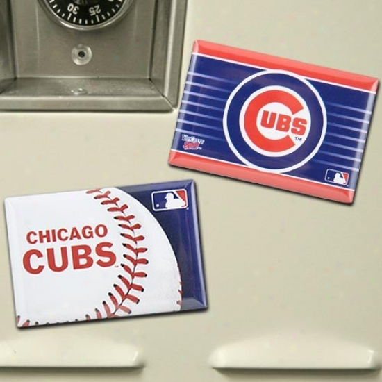 Chicago Cubs Two Pack Loadstone Set
