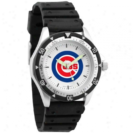 Chicago Cubs Watches : Chicago Cubs Men's Wicked Option Watches