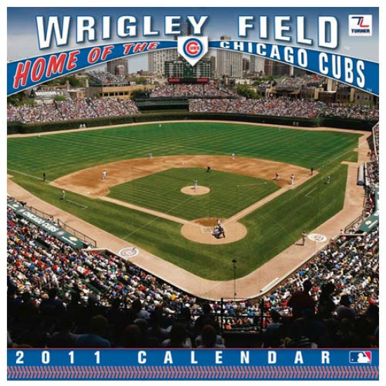 Chicago Cubs Wrigley Field 2011 Wall Calendar