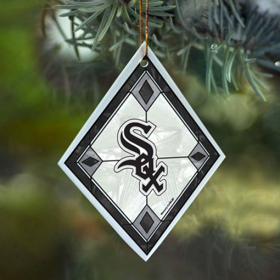 Chicago White Sox Art-glass Embellishment