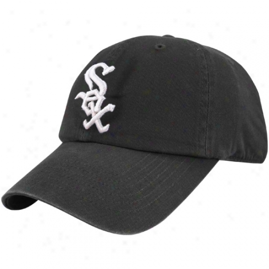 Chicago White So xCap : Chicago White Sox Black Franchise Fitted Cap