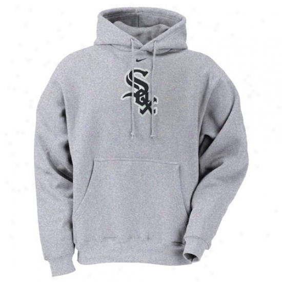 Chicago White Sox Fleece : Nike Chicago White Sox Ash Tackle Fleece