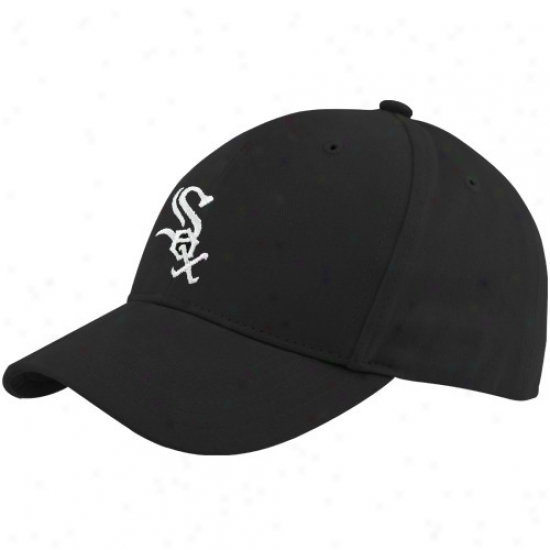 Chicago Pure Sox Gear: Twins '47 Chicago Pure Sox Toddler Black Basic Team Logo Adjustable Hat