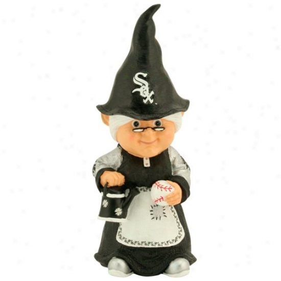 Chicago White Sox Mlb Female Garden Gnome
