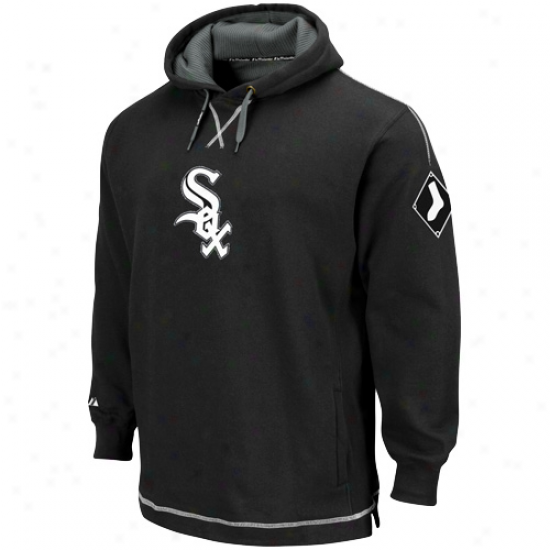 Chicago White Sox Sweatshirts : Majestic Chicago White Sox Black The Liberation Pullover Sweatshirts