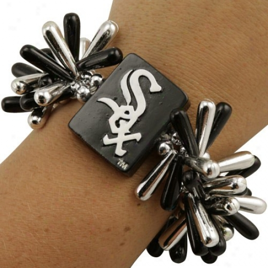 Chicago White Sox Team Spirit Beaded Bracelet