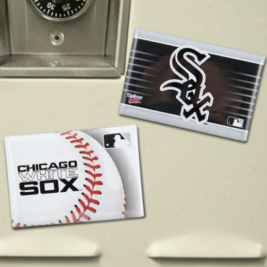 Chicago White Sox Two Pack Magnet Set