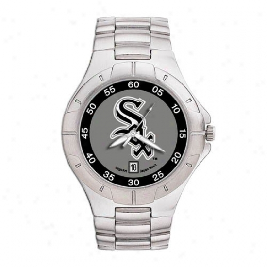 Chicago White Sox Watches : Chicago White Sox Men's Pro Ii Watches W/stainless Steel Band