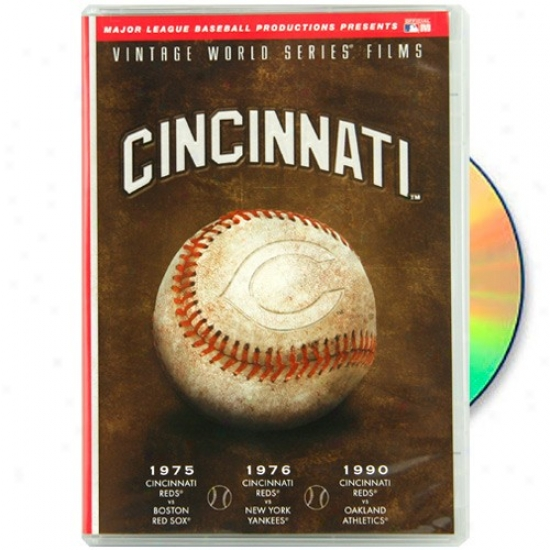 Cincinnati Reds 1975, 1976 & 1990 Vintage World Succession Films Dvd