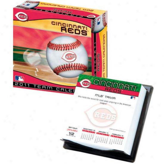 Cincinnati Reds 2011 Boxed Calendar