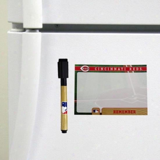 Cincinnati Redd 4-pack Magnetic Dry-erase Boards