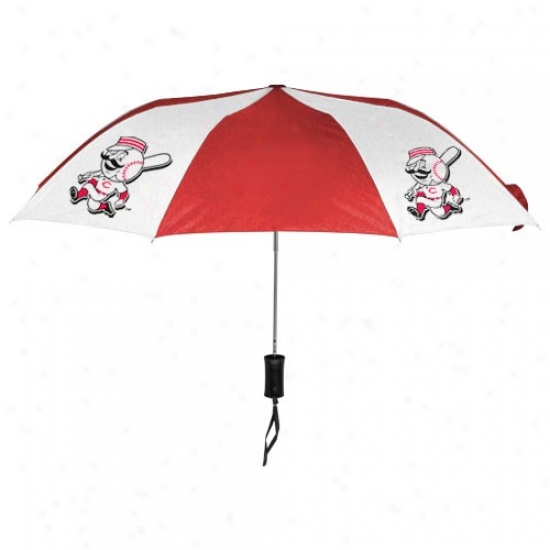 Cincinnati Reds 68'' Folding Umbrella