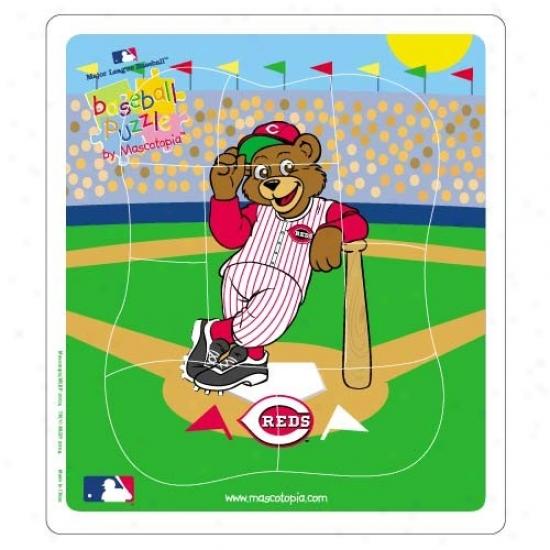 Cincinnati Reds Baseball Puzzle