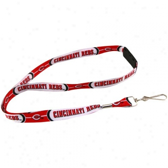 Cincinnati Reds Red Event Lanyard