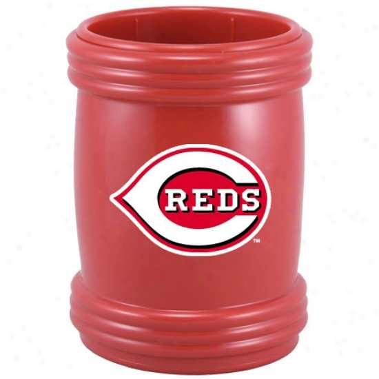 Cincinnati Reds Red Magna-coolie Magnetic Beverage Holder