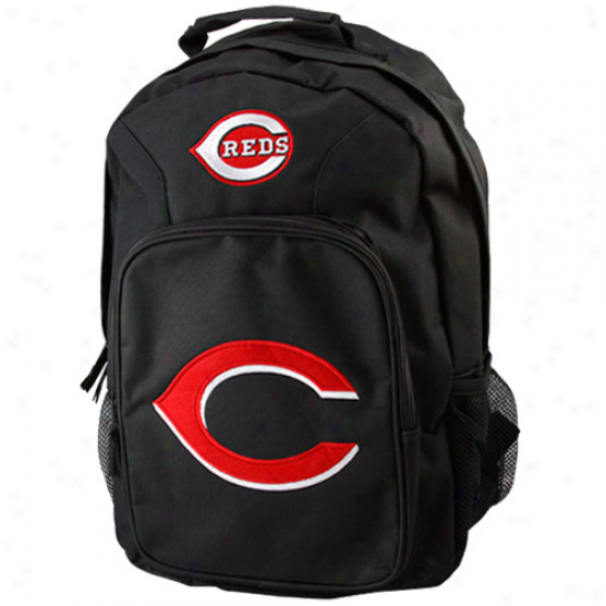 Cincinnati Reds Youth Black Southpaw Backpack