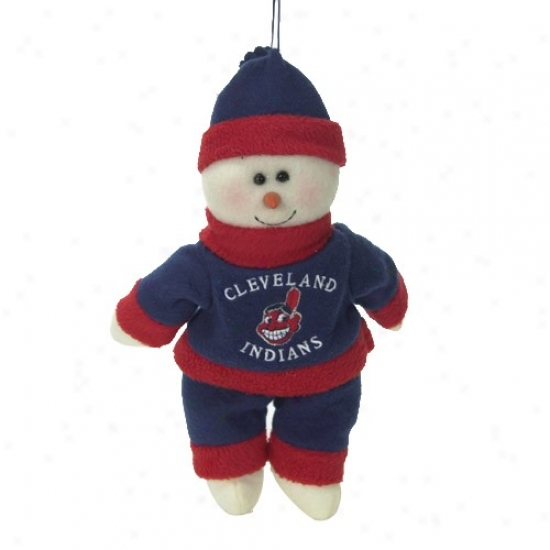 Cleveland Indians 10-inch Snowflake Friend Plush